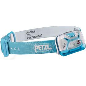 Petzl Tikka hoofdlamp wit/turquoise
